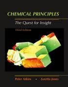 Chemical Principles The Quest for Insight 3rd 2005 edition cover