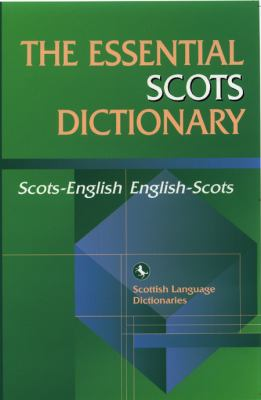 Essential Scots Dictionary   2004 9780748622016 Front Cover