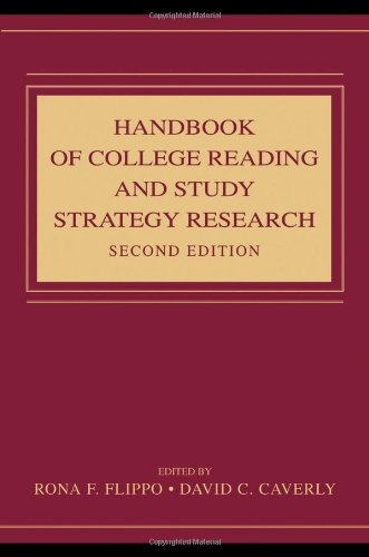 Handbook of College Reading and Study Strategy Research  2nd 2009 (Revised) edition cover