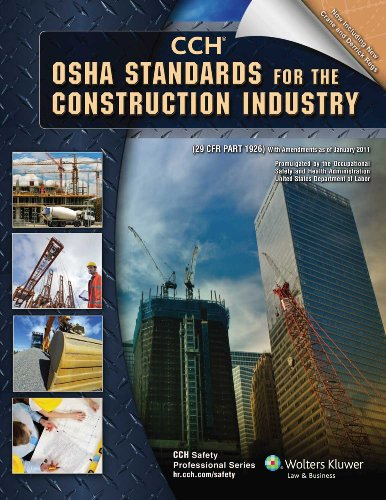 OSHA Standards for the Construction Industry  N/A edition cover