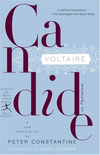 Candide Or, Optimism N/A edition cover