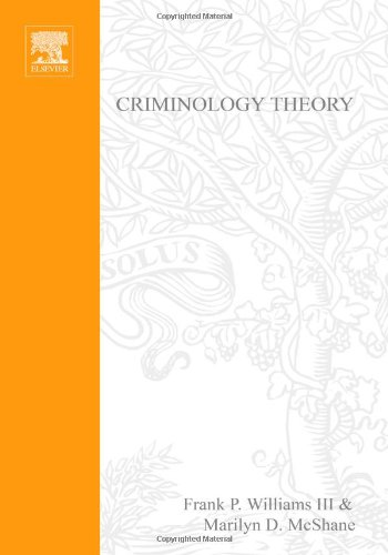 Criminology Theory Selected Classic Readings 2nd 1998 (Revised) edition cover