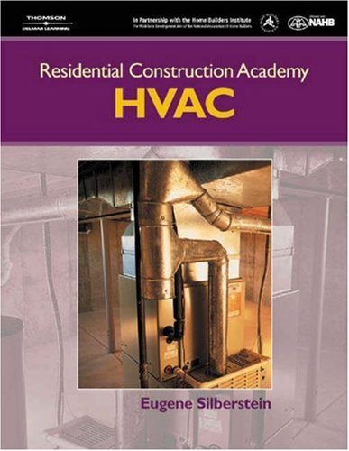 Residential Construction Academy Heating, Ventilation and Air Conditioning   2005 9781401849016 Front Cover