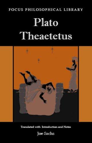 Plato Theatetus   2004 edition cover