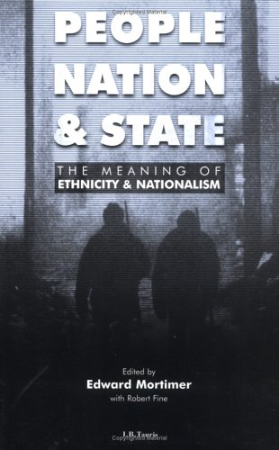 People Nation and State The Meaning of Ethnicity and Nationalism  1999 edition cover