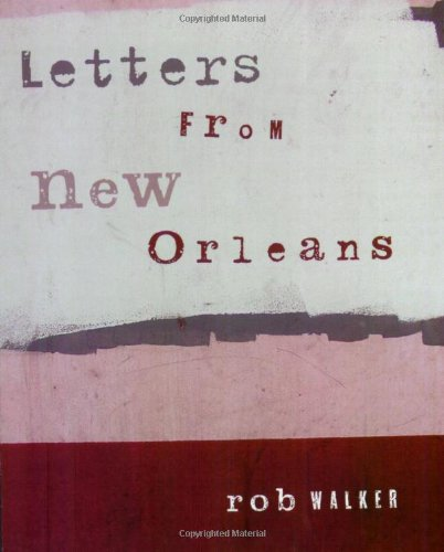 Letters from New Orleans   2005 edition cover