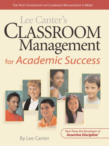 Lee Canter's Classroom Management for Academic Success   2012 edition cover