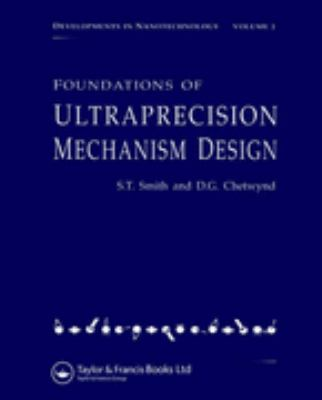 Foundations of Ultra-Precision Mechanism Design   2003 edition cover