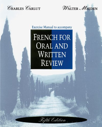 French for Oral and Written Review  5th 1993 edition cover