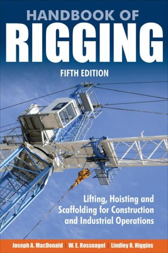Handbook of Rigging Lifting, Hosting, and Scaffolding for Construction and Industrial Operations 5th 2009 (Handbook (Instructor's)) edition cover