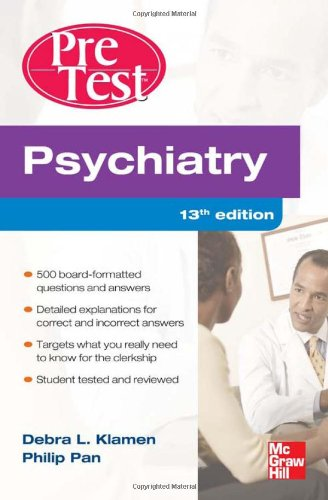 Psychiatry  13th 2012 edition cover