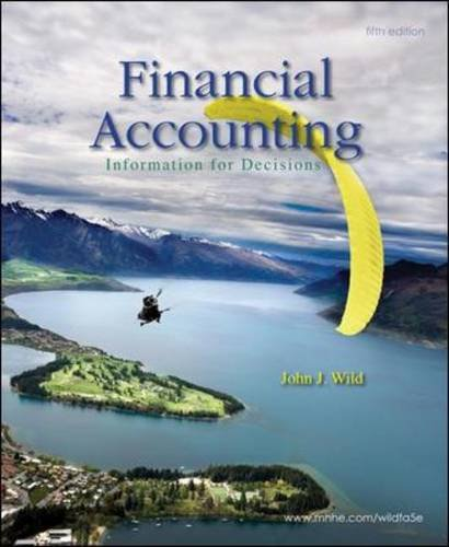 Financial Accounting Information for Decisions 5th 2011 edition cover