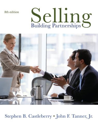 Selling Building Partnerships 8th 2011 edition cover