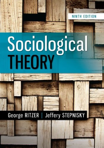 Sociological Theory  9th 2014 edition cover