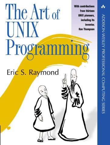 Art of UNIX Programming   2004 edition cover