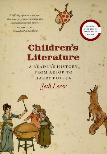 Children's Literature A Reader's History from Aesop to Harry Potter  2009 edition cover