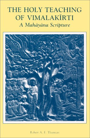 Holy Teaching of Vimalakirti A Mahayana Scripture  1976 edition cover