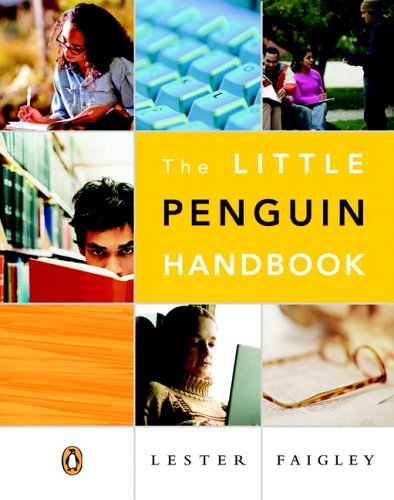 Little Penguin Handbook   2007 edition cover