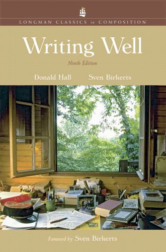 Writing Well  9th 2007 (Revised) edition cover