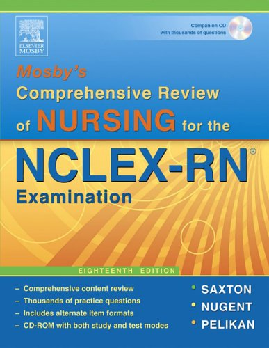 Mosby's Comprehensive Review of Nursing for NCLEX-RN  18th 2006 (Revised) edition cover