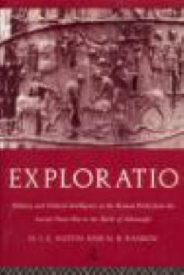 Exploration Military and Political Intelligence in the Roman World from the Second Punic War to the Battle of Adrianople  1998 edition cover