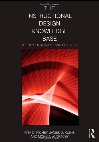 Instructional Design Knowledge Base Theory, Research, and Practice  2011 edition cover