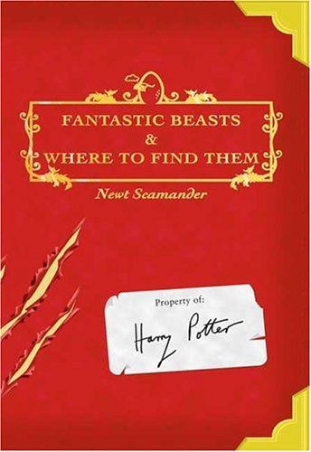 Fantastic Beasts and Where to Find Them   2001 edition cover