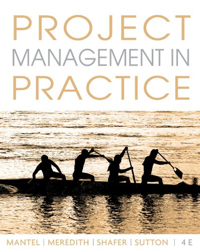 Project Management in Practice  4th 2011 edition cover
