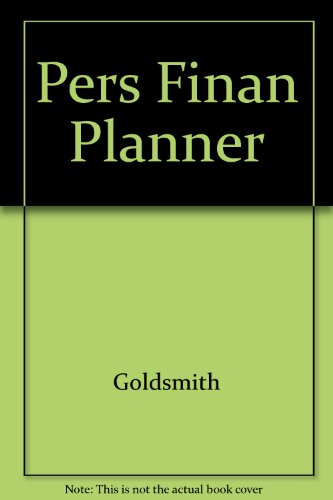 Personal Financial Planner   2001 9780534545017 Front Cover