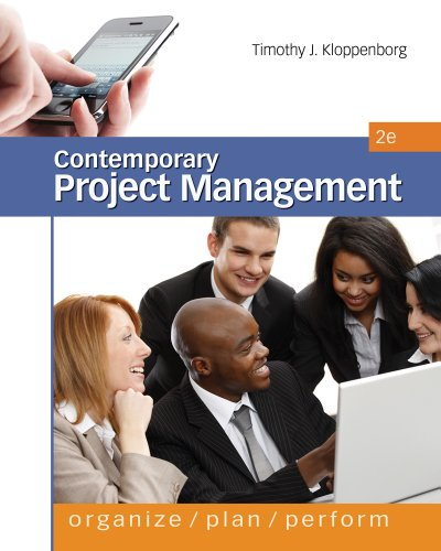 Contemporary Project Management  2nd 2012 edition cover
