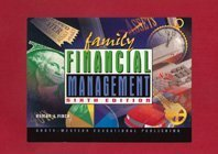 Family Financial Management Simulation 6th 1999 (Revised) 9780538675017 Front Cover