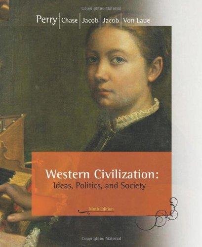 Western Civilization Ideas, Politics, and Society 9th 2009 edition cover