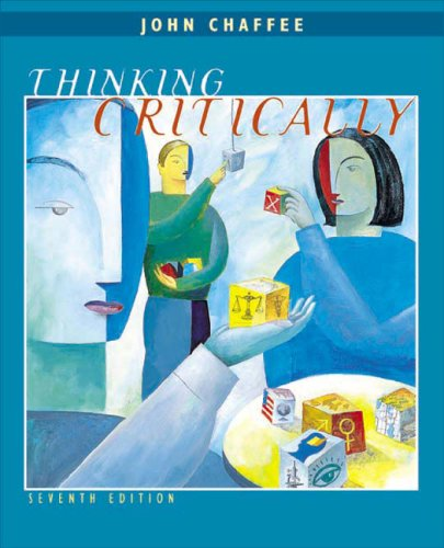 Thinking Critically 7th 2003 9780618216017 Front Cover