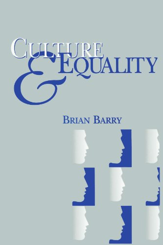 Culture and Equality An Egalitarian Critique of Multiculturalism  2001 (Reprint) edition cover