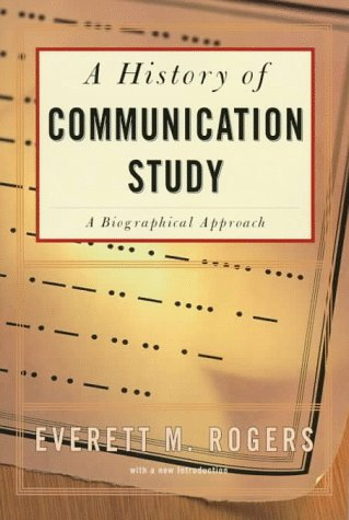 History of Communication Study   1997 edition cover