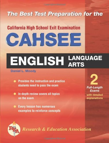 CAHSEE - English Language Arts  N/A 9780738600017 Front Cover