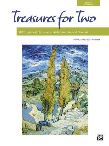 Treasures for Two: 10 Exceptional Duets for Recitals, Concerts, and Contests)  2006 edition cover