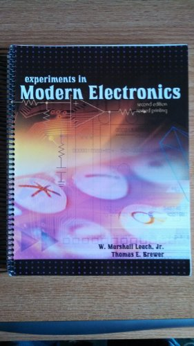 Experiments in Modern Electronics  2nd 2000 (Revised) 9780757506017 Front Cover