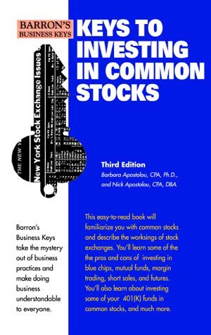 Keys to Investing in Common Stocks 3rd 2000 9780764113017 Front Cover