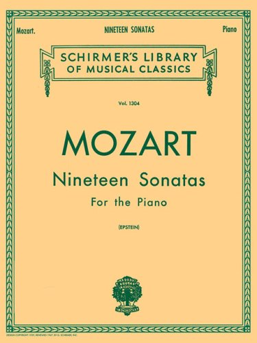 Nineteen Sonatas For the Piano N/A edition cover