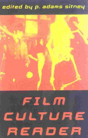 Film Culture Reader  2nd 2000 edition cover