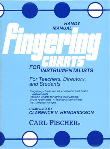 FINGERING CHARTS FOR INSTRUMEN 1st edition cover
