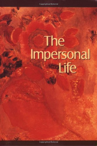 Impersonal Life  N/A 9780875163017 Front Cover