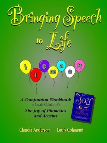 Bringing Speech to Life:   2003 edition cover
