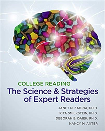 College Reading The Science and Strategies of Expert Readers  2014 edition cover