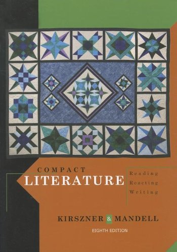Compact Literature Reading, Reacting, Writing 8th 2013 9781111839017 Front Cover