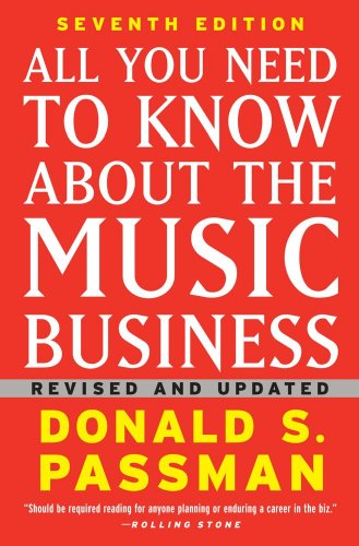 All You Need to Know about the Music Business  7th 2009 edition cover