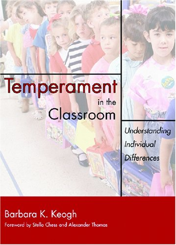 Temperament in the Classroom Understanding Individual Differences  2003 edition cover