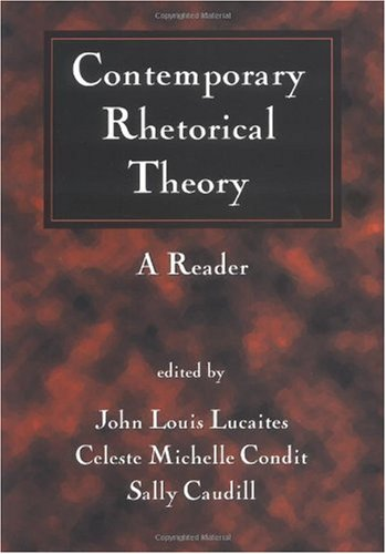 Contemporary Rhetorical Theory A Reader  1999 edition cover