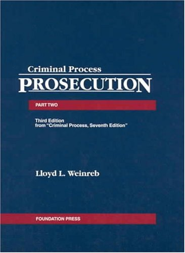 Prosecution, 2004  3rd 2004 (Revised) edition cover